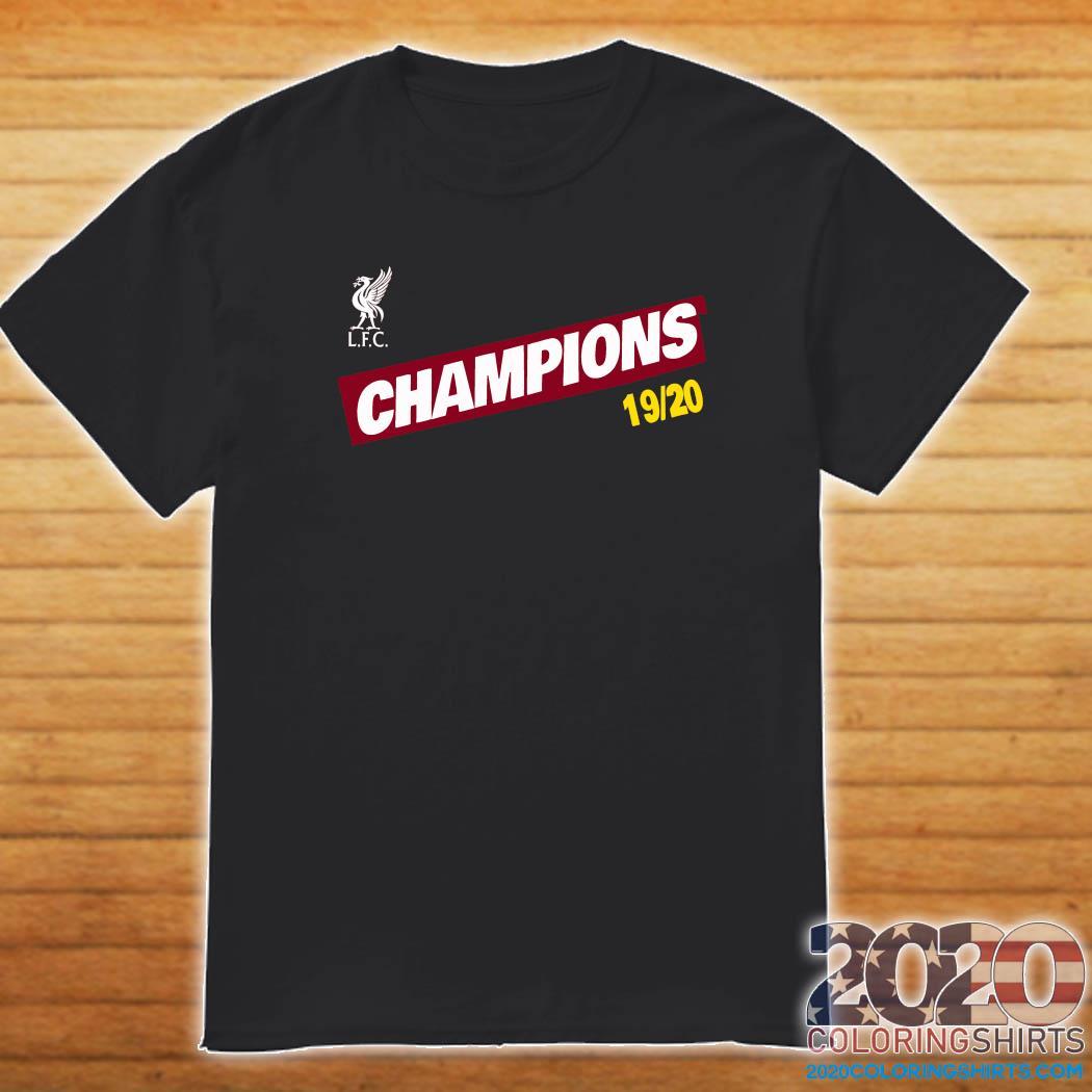 Liverpool LFC Champions 1920 shirt