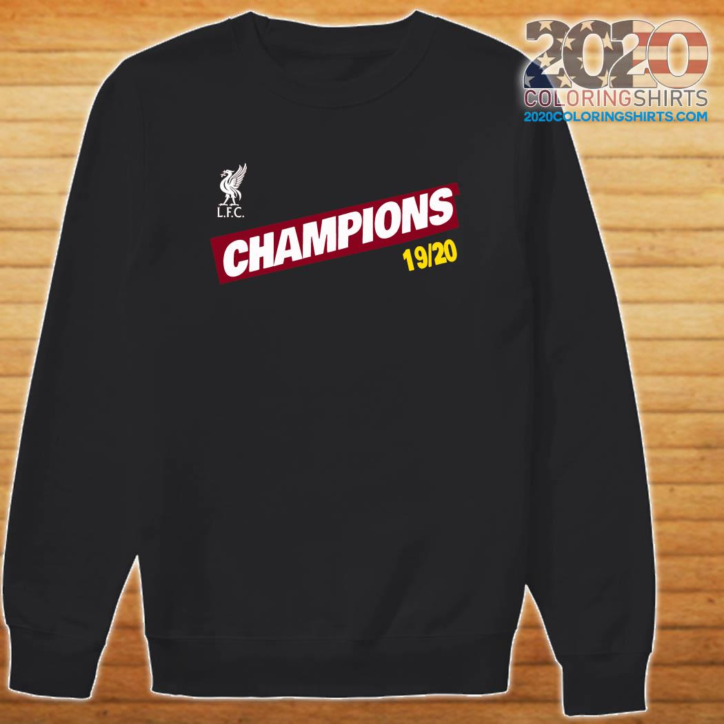 Liverpool LFC Champions 1920 s Sweater