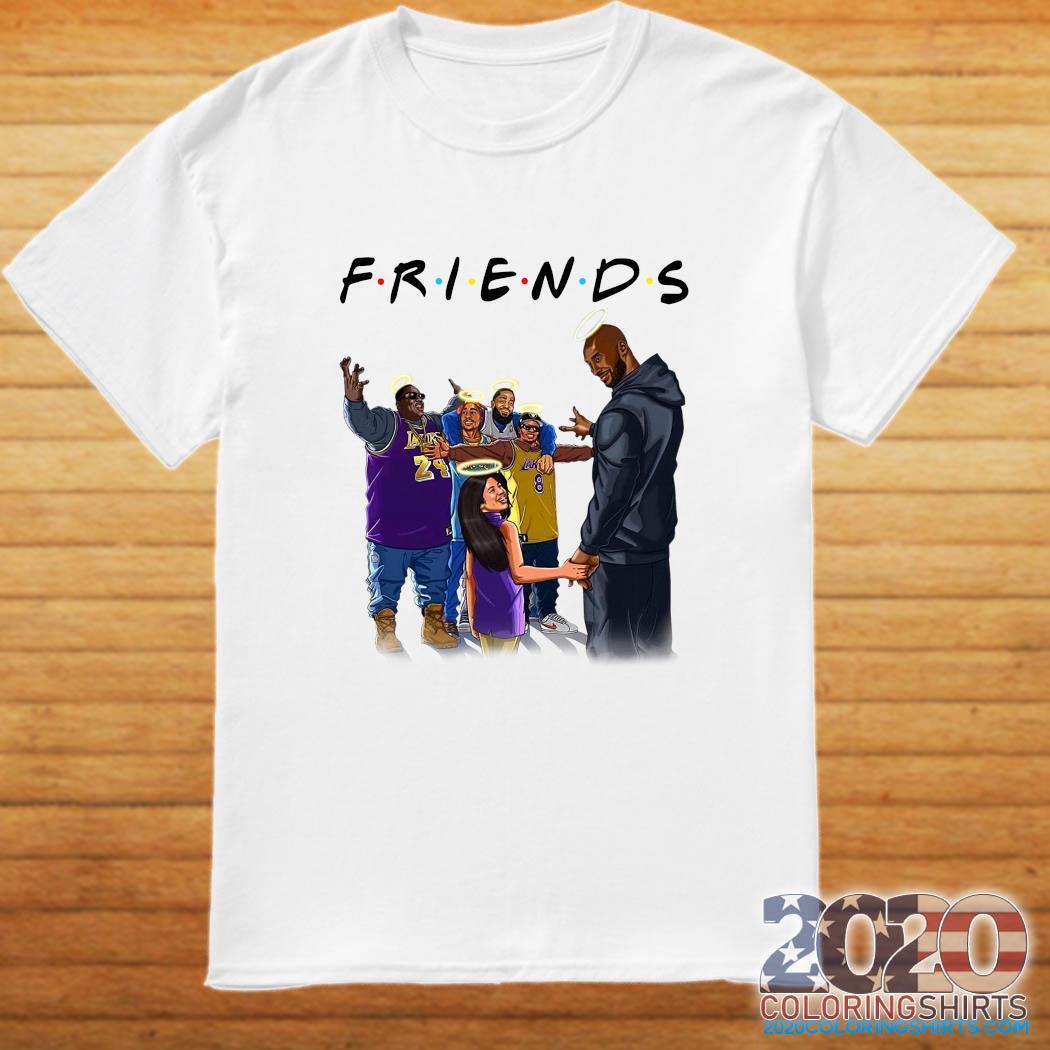Friend In Heaven Kobe Bryant And Legends Rapper Shirt