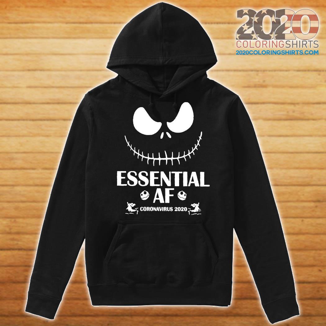 Jack Skellington Essential Of Coronavirus 2020 Shirt Hoodie