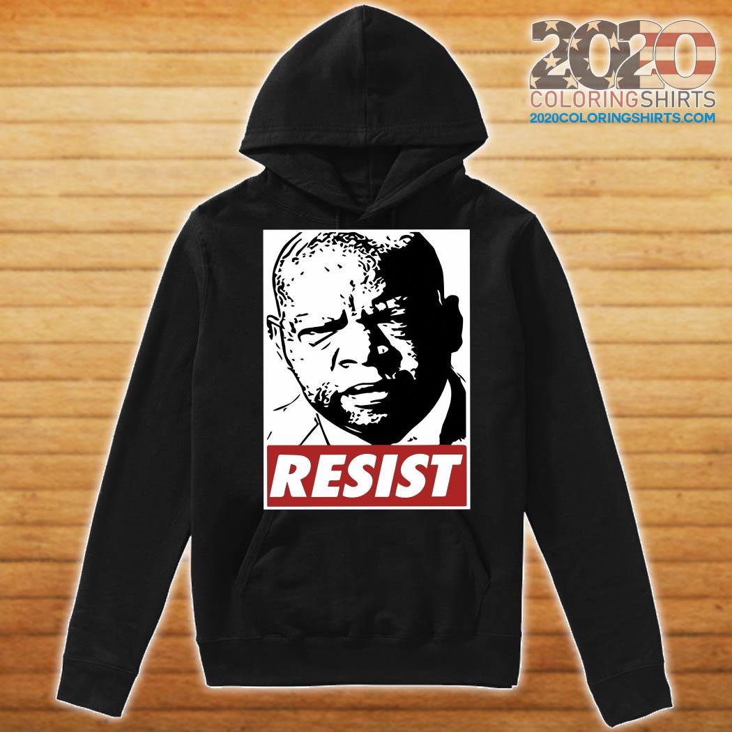 John Lewis Resist Shirt Hoodie