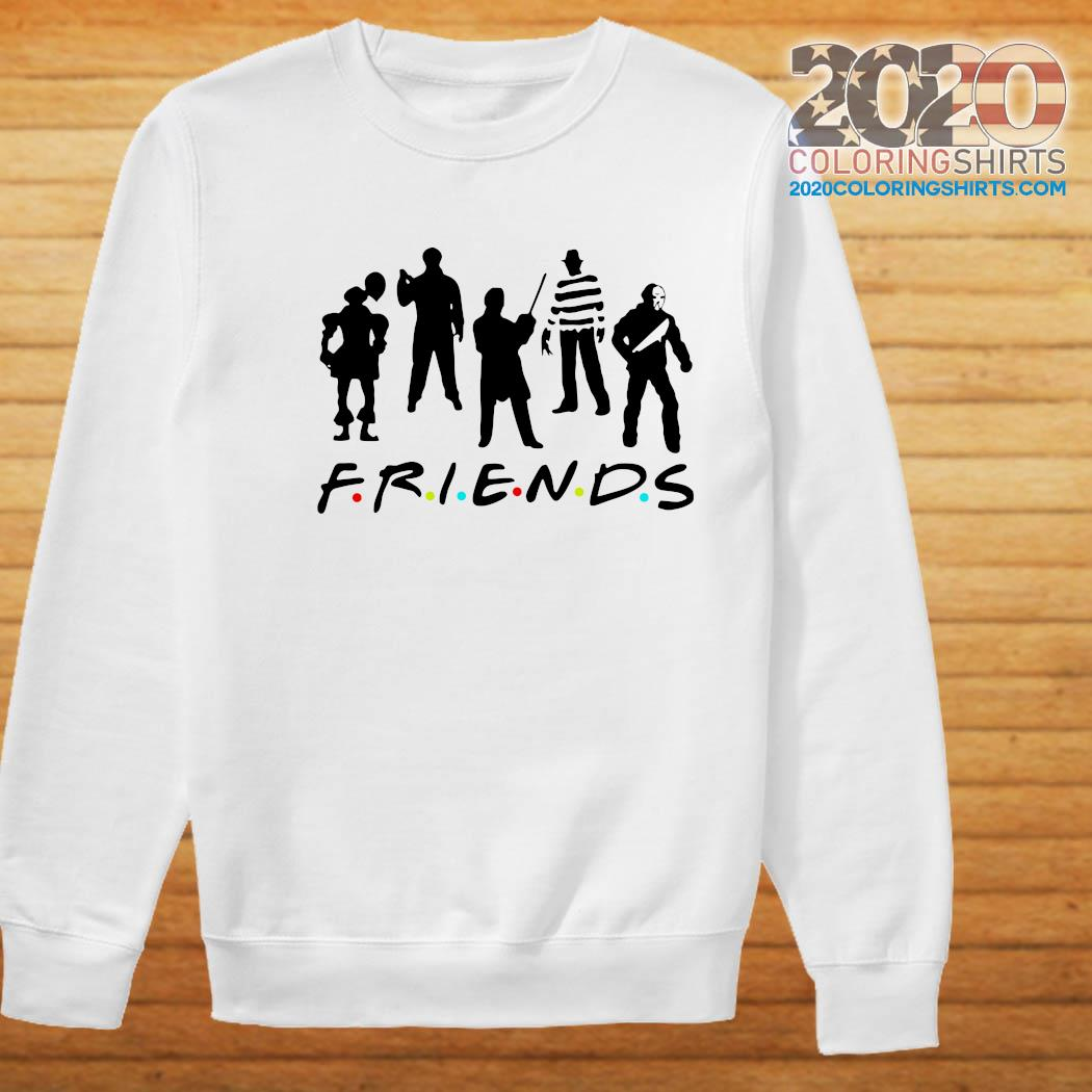Official Halloween Horror Team Scary Movies Friends Shirt