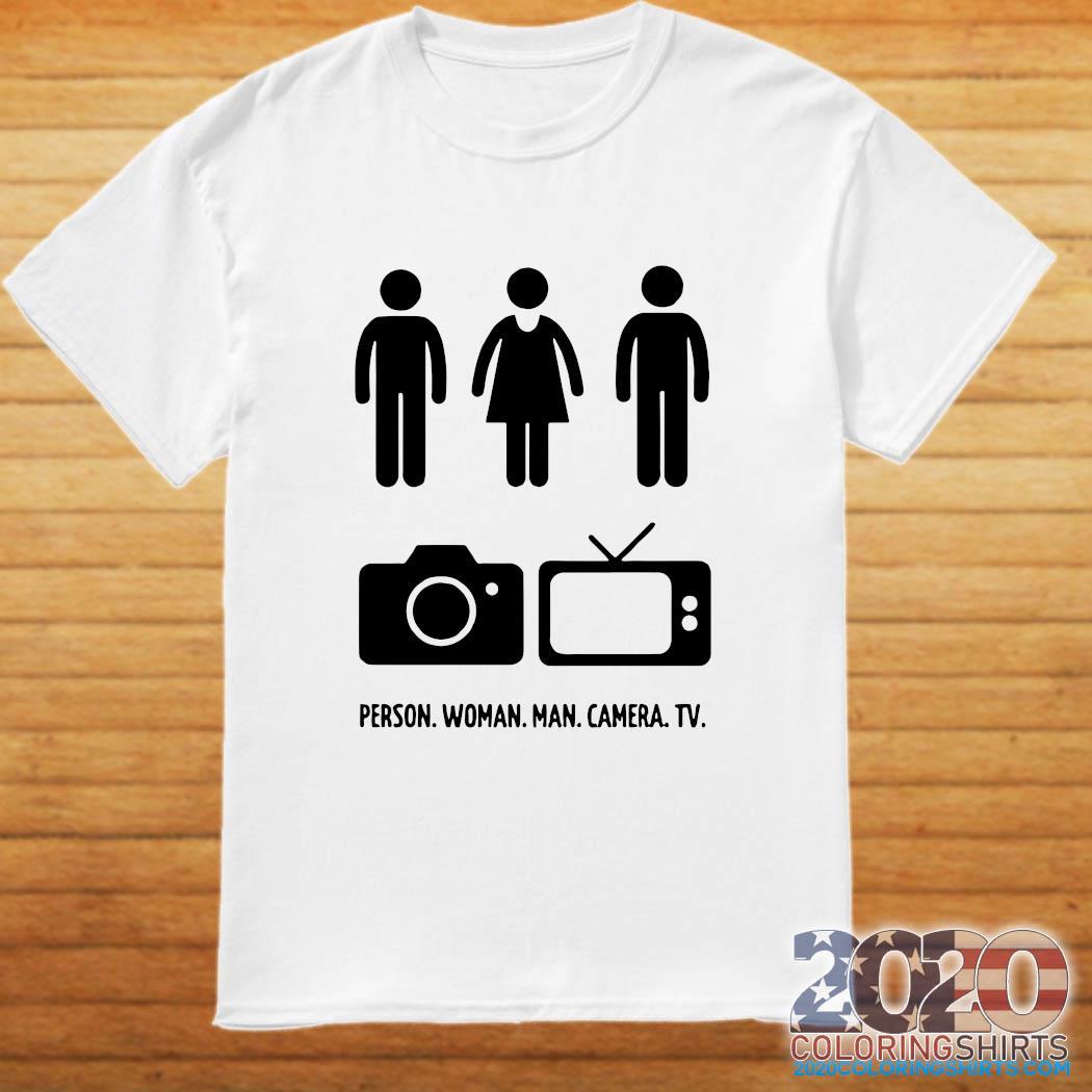 Person Woman Man Camera Tv Song Gift 2020 Shirt