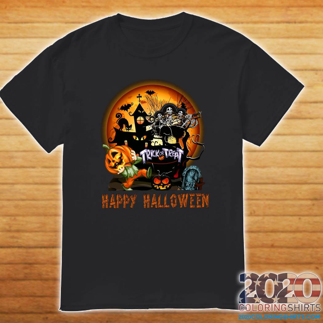 Halloween 2020 Shirts Trick or treat Happy Halloween shirt   2020 Coloring Shirts