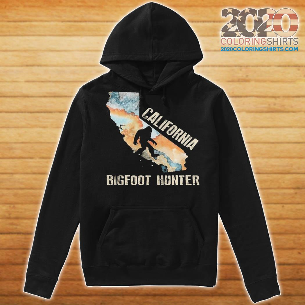 California bigfoot hunter sunset s Hoodie