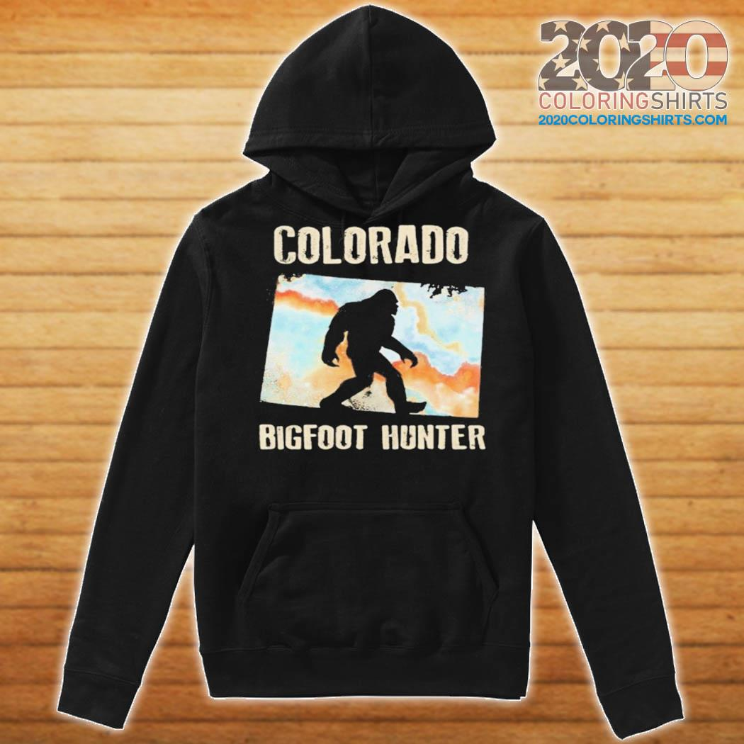Colorado bigfoot hunter sunset s Hoodie