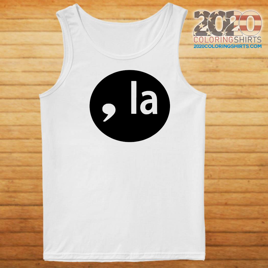 COMMA-LA 2020 SHIRT Tank top