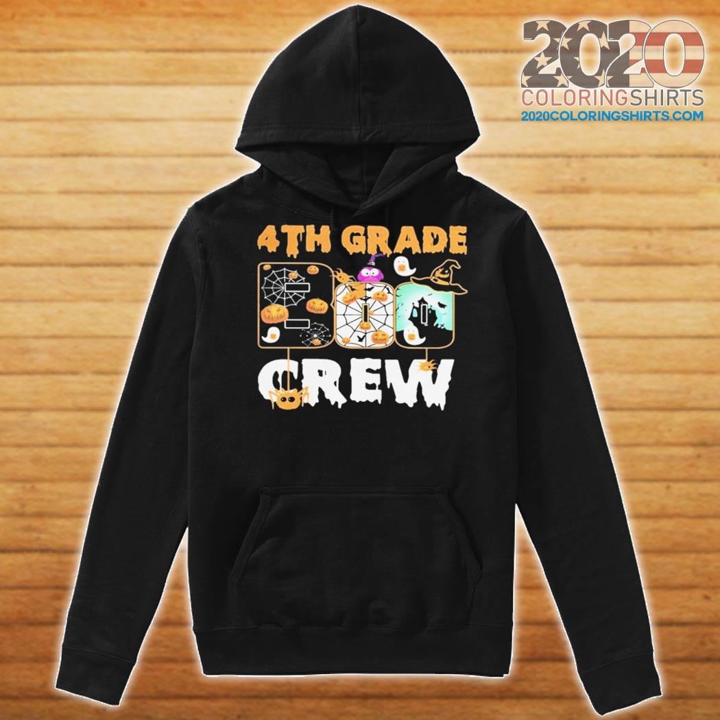 Halloween 4th grade boo crew s Hoodie
