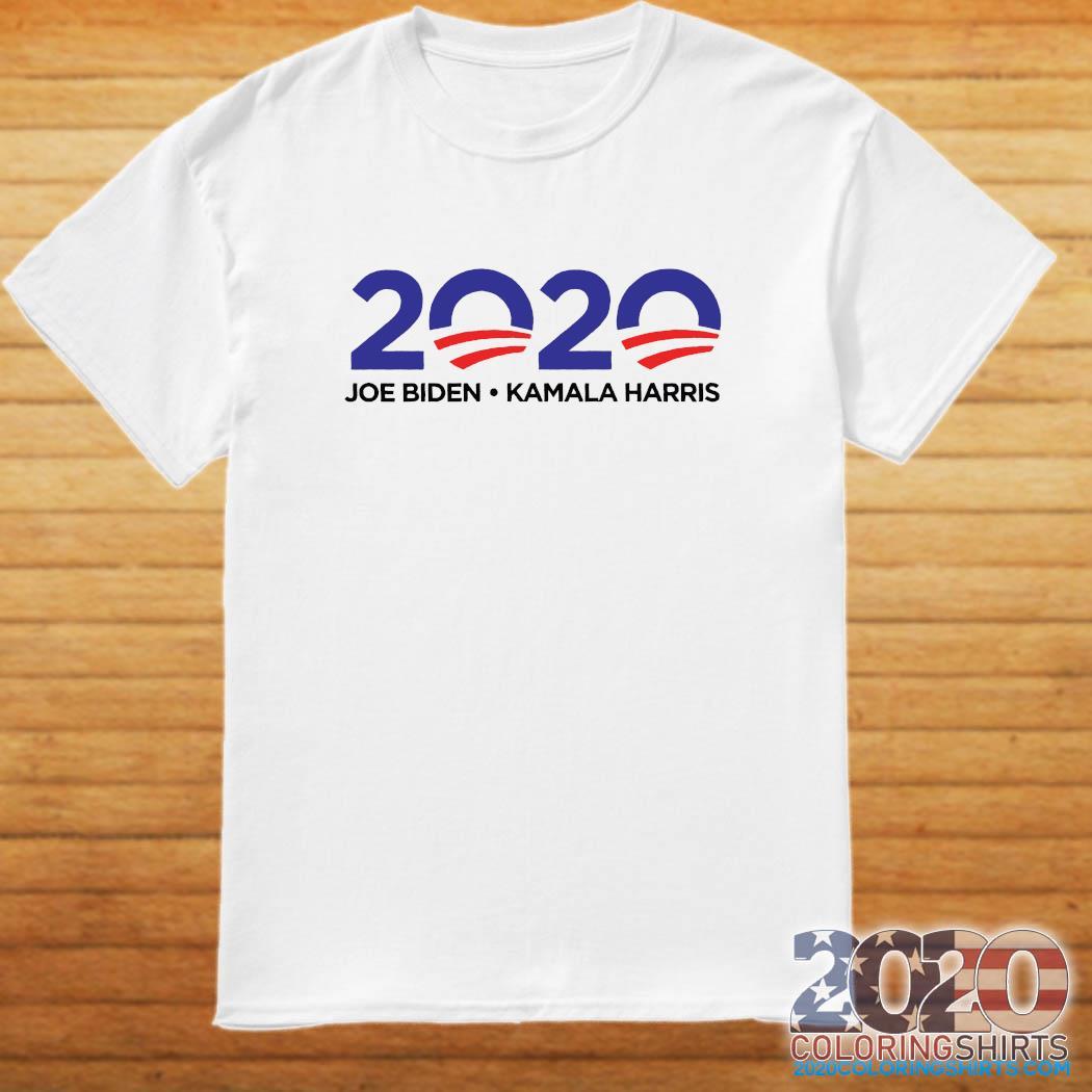 Joe Biden Kamala Harris 2020 Shirt 2020 Coloring Shirts
