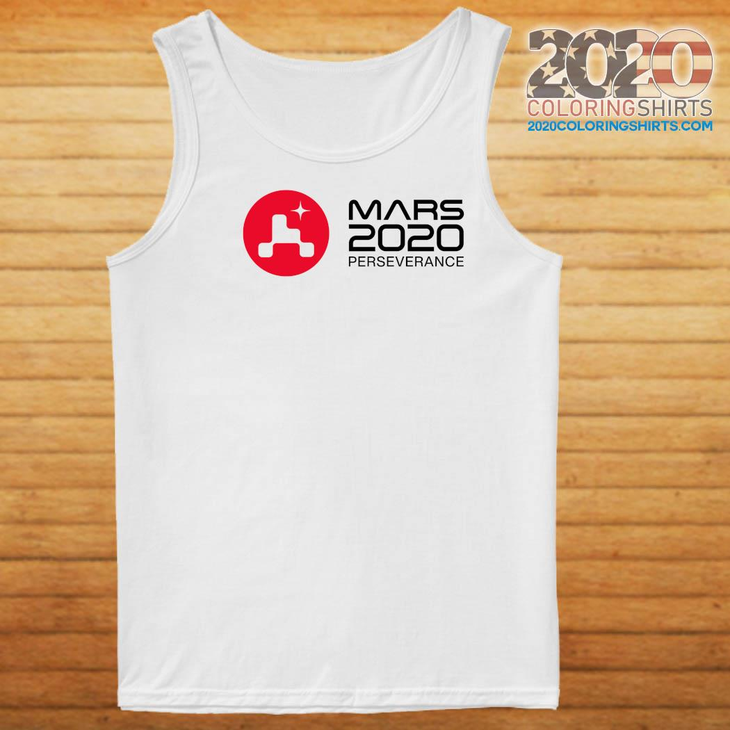 Mars 2020 Perseverance Rover Launch Day Commemorative Official T-Shirt Tank top