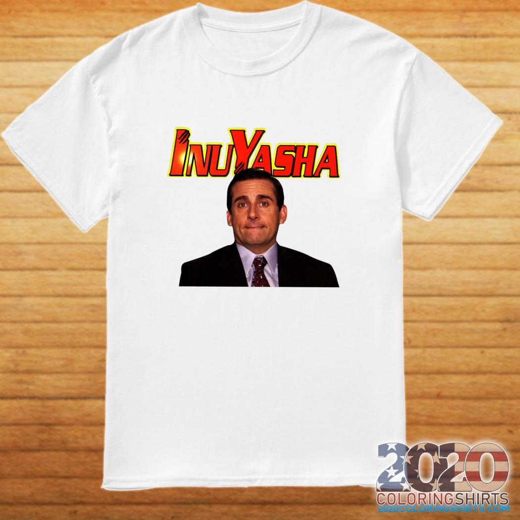 Michael Scott Inuyasha shirt