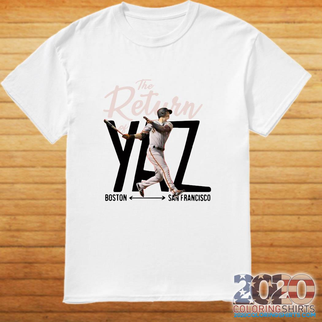 Mike Yastrzemski Yaz Boston San Francisco Shirt