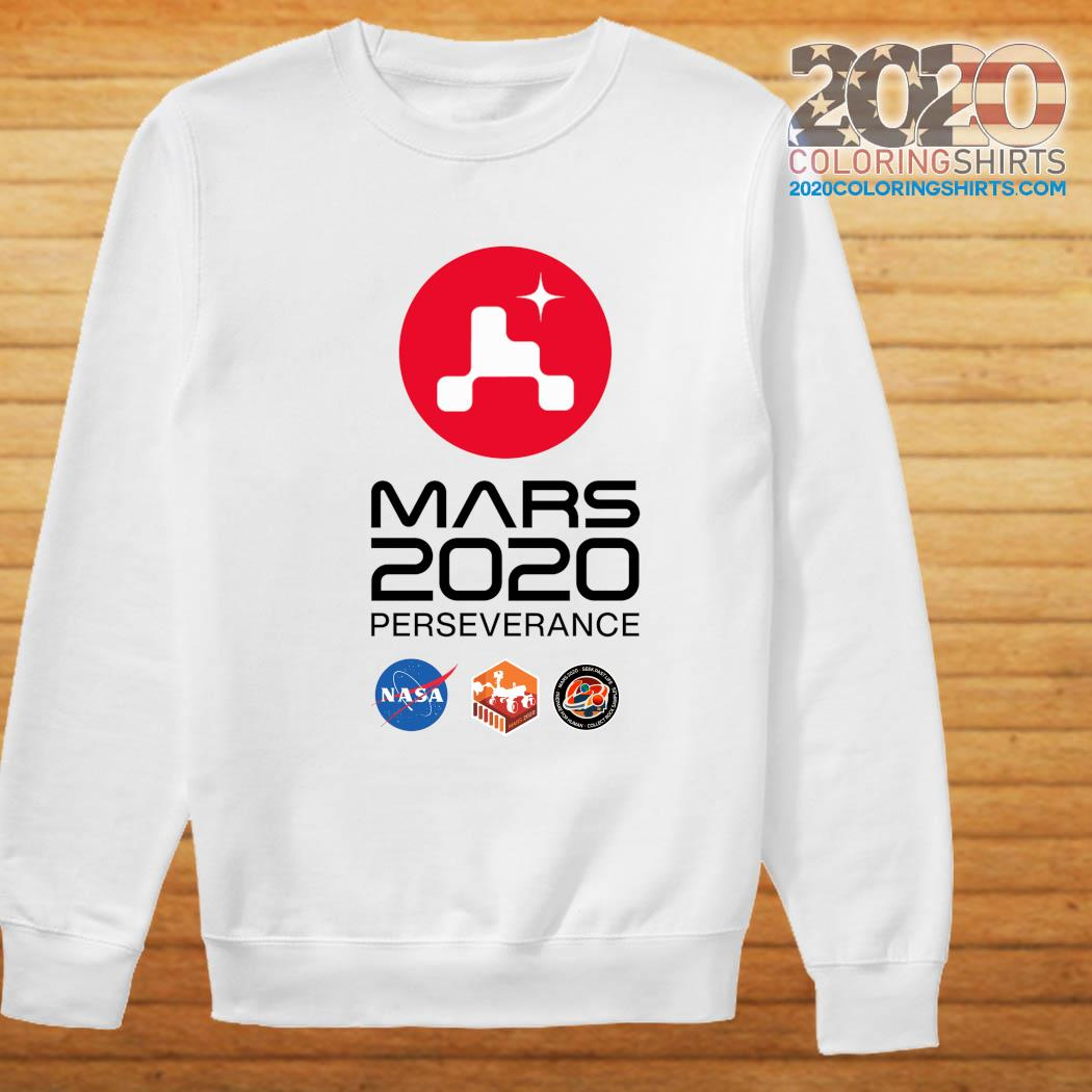 NASA Mars Rover Perseverance T-Shirt Sweater