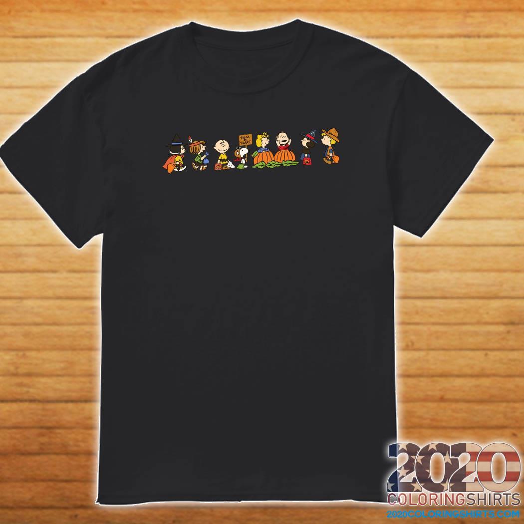 Charlie Brown Halloween 2020 Peanuts Charlie Brown Halloween Shirt   2020 Coloring Shirts
