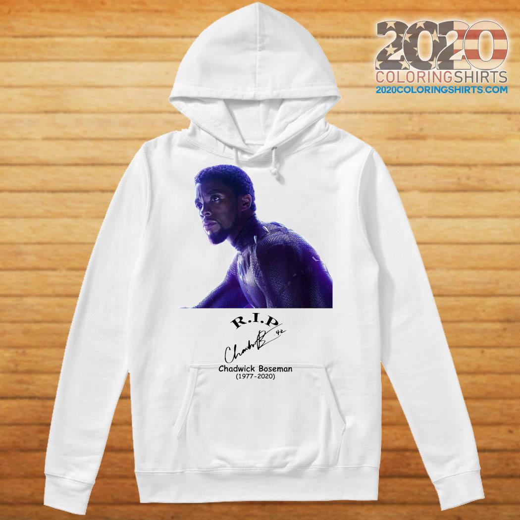 Rip Chadwick Boseman Black Panther 1977 2020 Signature Shirt Hoodie