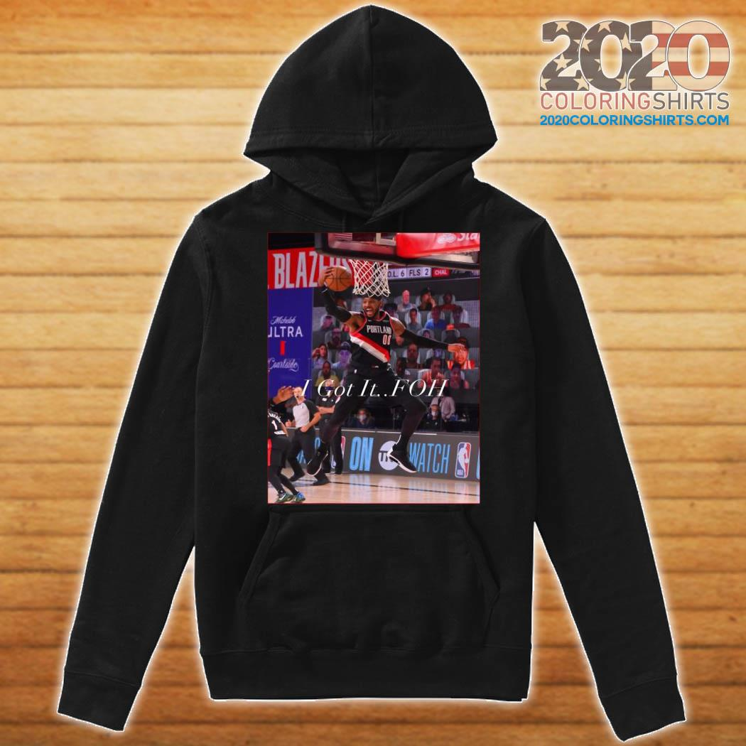 The Carmelo Anthony I Got It FOH Official T-Shirt Hoodie