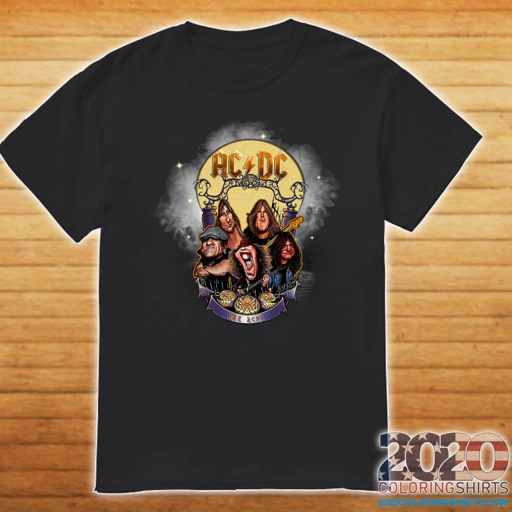Halloween 2020 Dc Official Ac Dc Rock Band Comic 2020 Halloween Shirt   2020