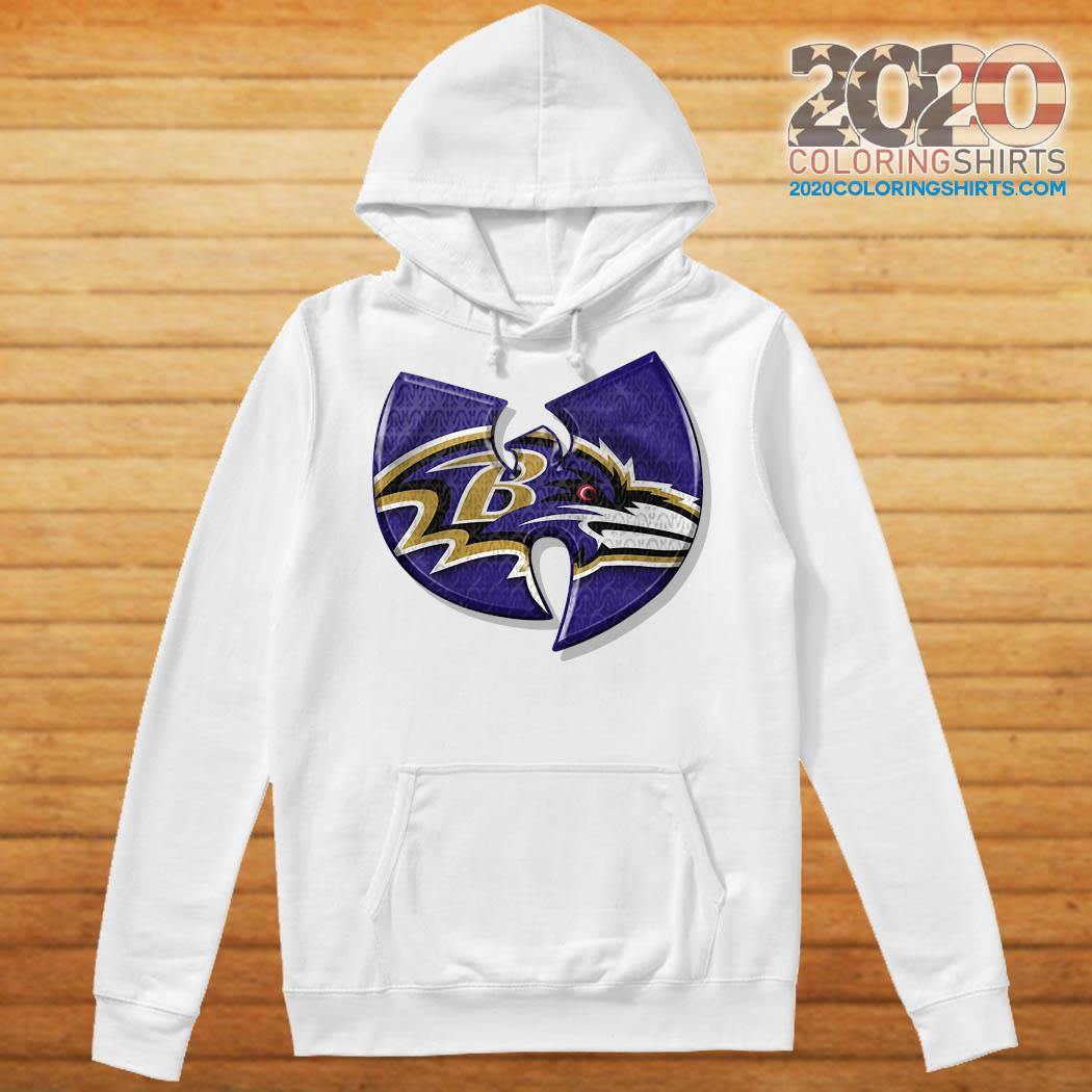 Wu Tang Baltimore Ravens s Hoodie