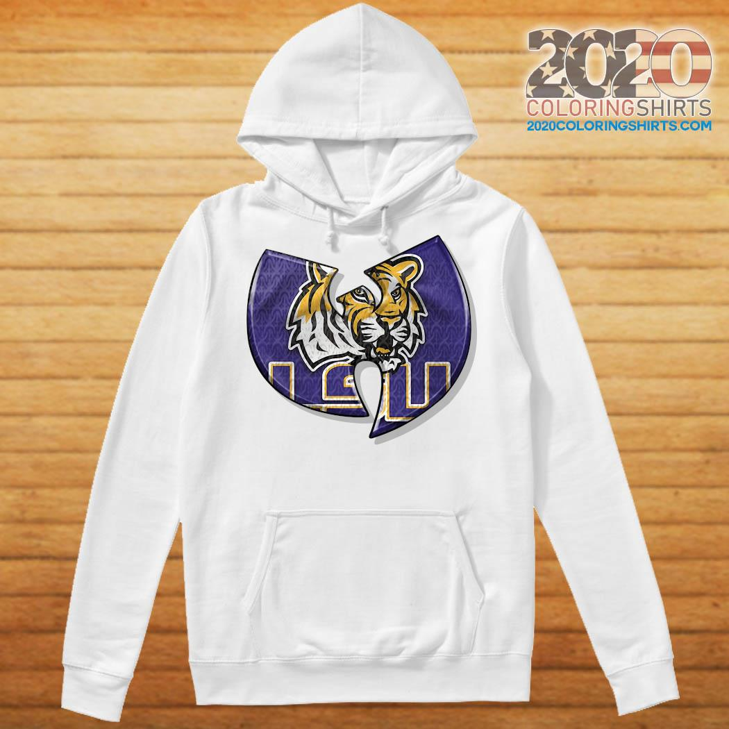 Wu Tang LSU Tiger Shirt Hoodie