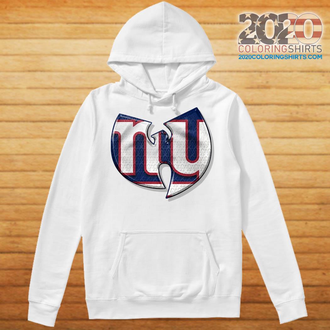 Wu-tang New York Giants Shirt Hoodie
