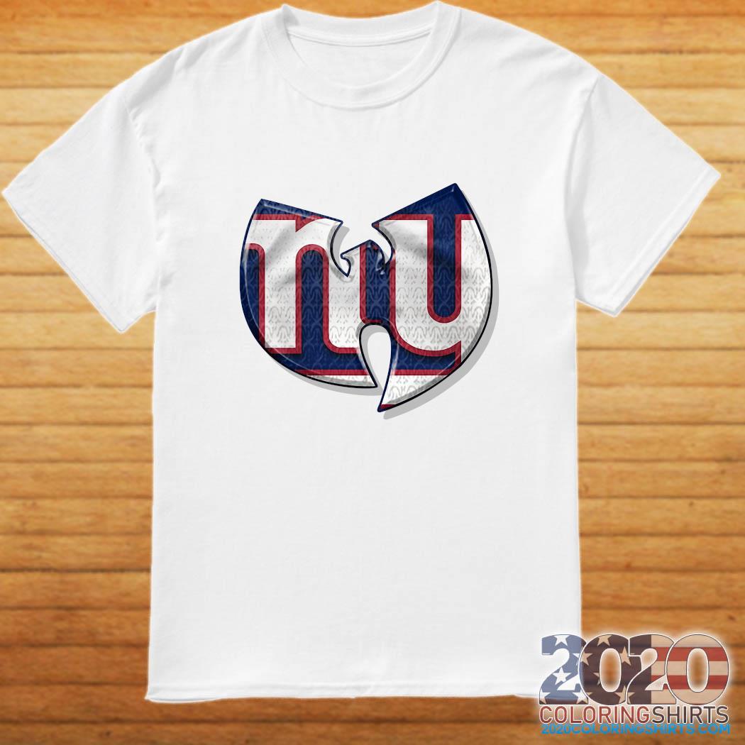 Wu-tang New York Giants Shirt