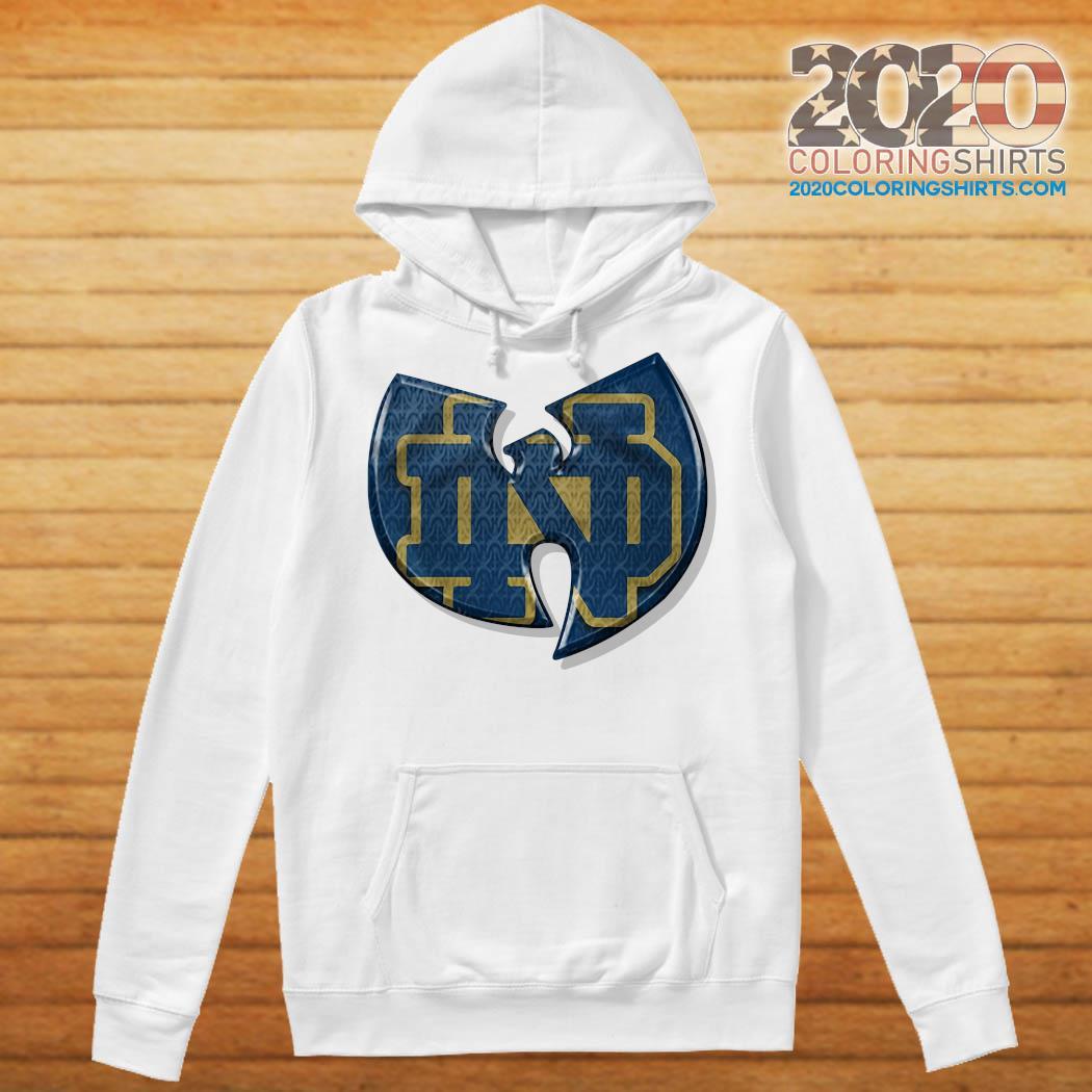 Wu Tang Notre Dame Fighting Irish Shirt Hoodie