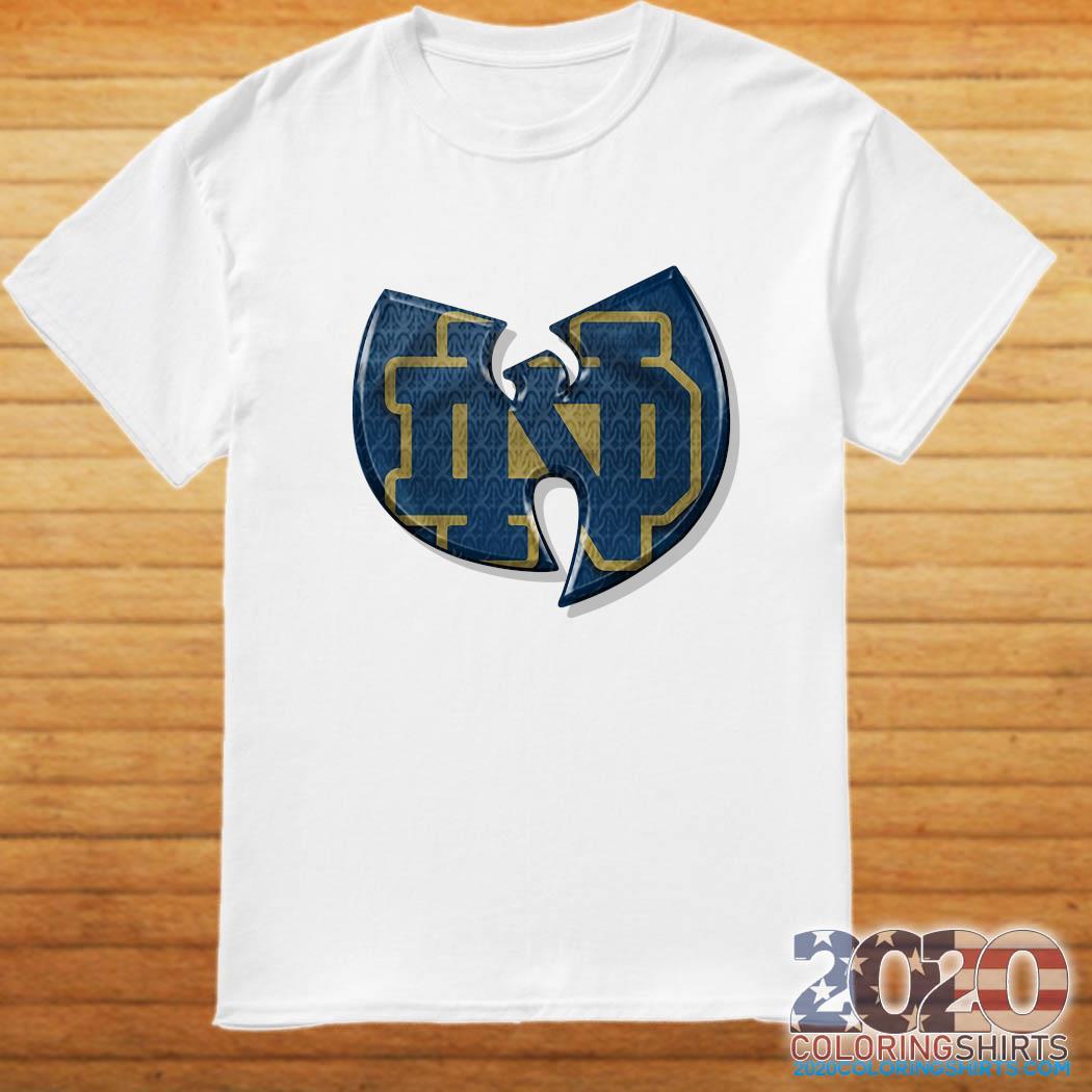 Wu Tang Notre Dame Fighting Irish Shirt