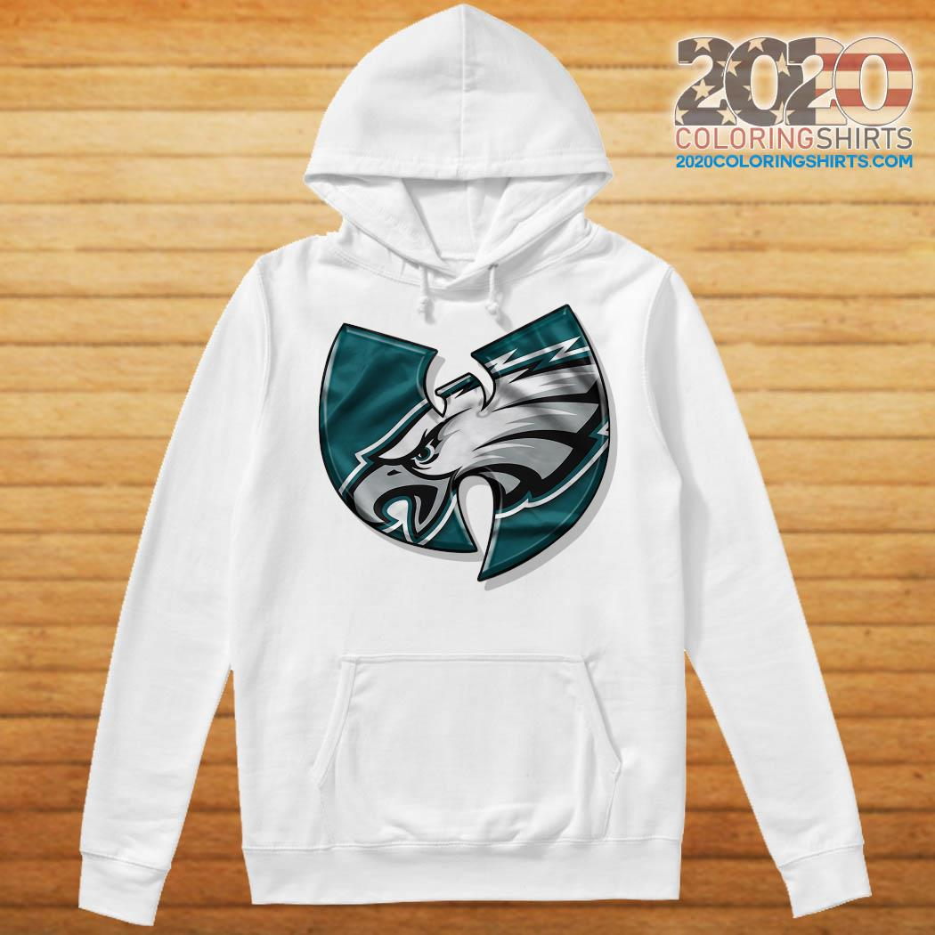 Wu Tang Philadelphia Eagles T-Shirt Hoodie