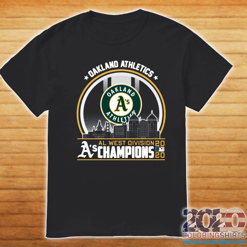 Division Champions Oakland Athletics Logo Shirt 2020 Coloring Shirts