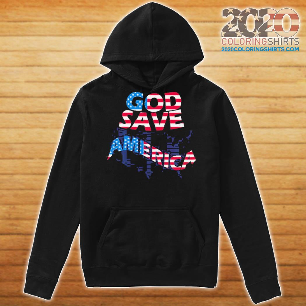 God save america patriotic american flag s Hoodie