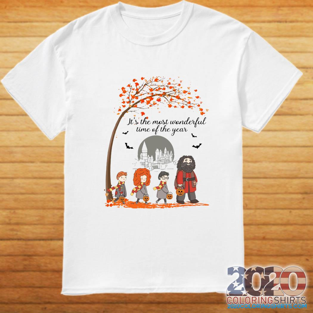 Harry Potter Hogwart It's The Most Wonderful Time Of The Year Shirt