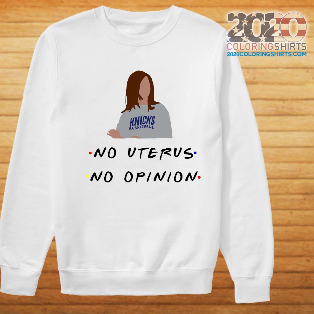 Knicks Basketball No Uterus No Opinion Selling out fast Sweatshirt