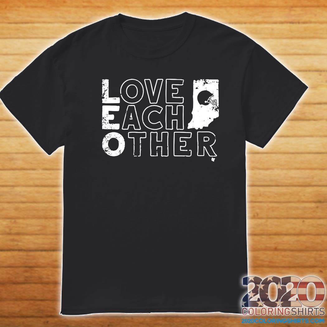 Bloomington Love Each Other Baseball Shirt