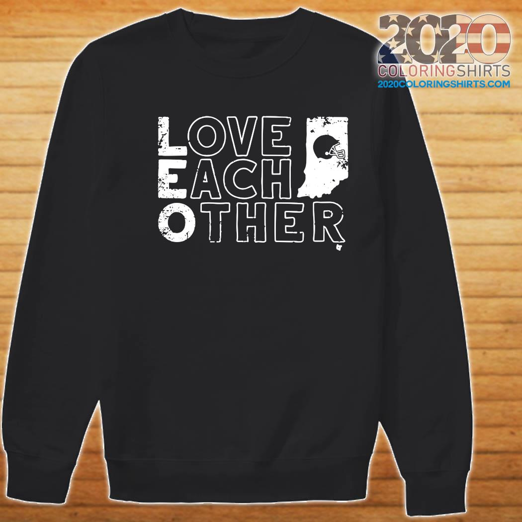 Bloomington Love Each Other Baseball Shirt Sweater