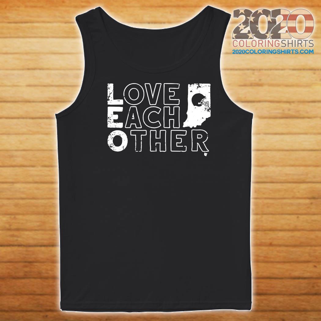 Bloomington Love Each Other Baseball Shirt Tank top