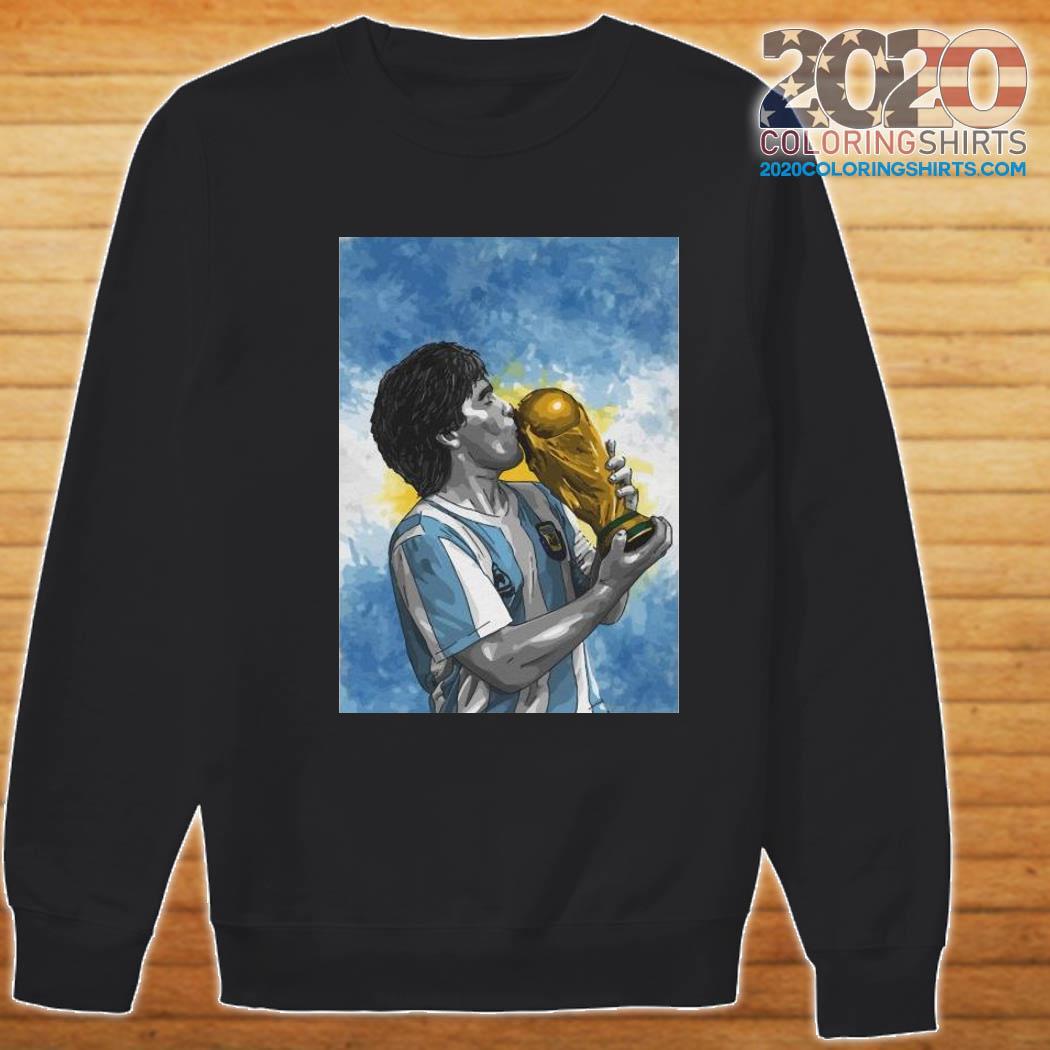 Diego Maradona Football Shirt Sweater