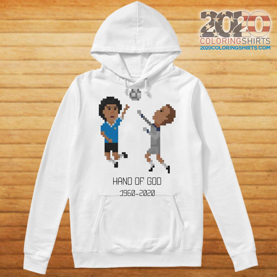 Diego Maradona Hand of God 1986 World Cup American Apparel RIP Argentina Legend 1960 2020 Soccer Shirt Hoodie