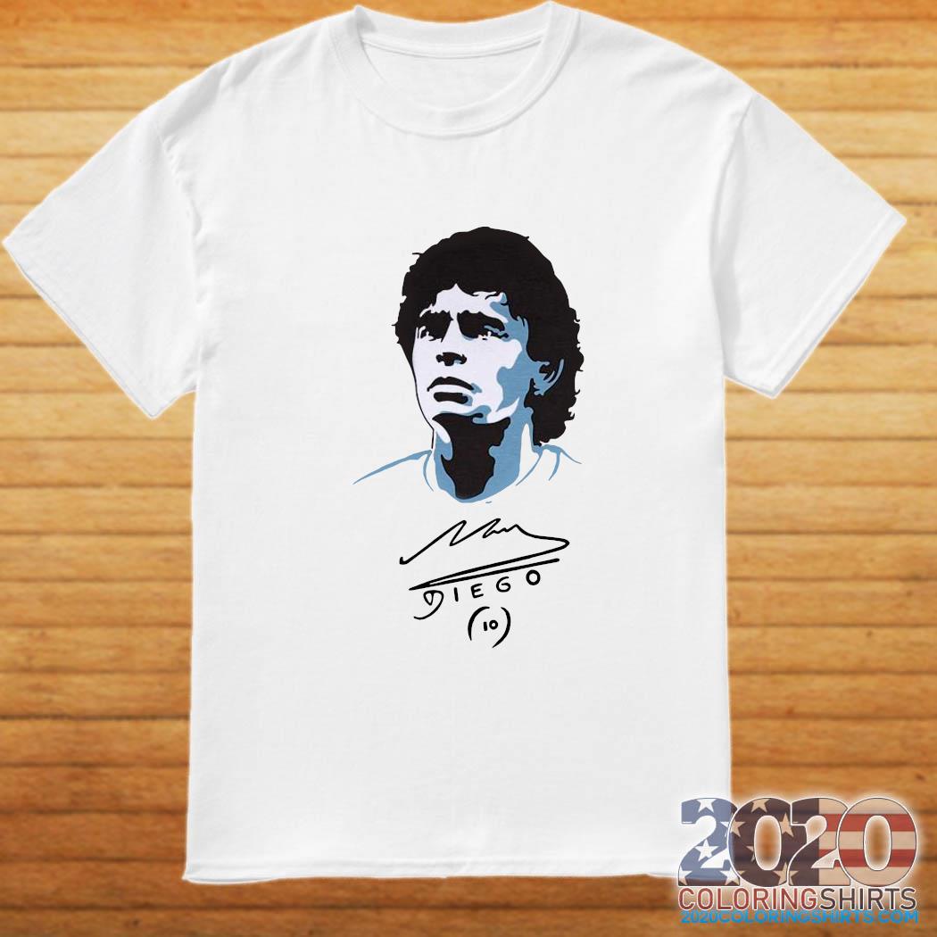 Diego Maradona Signature Shirt