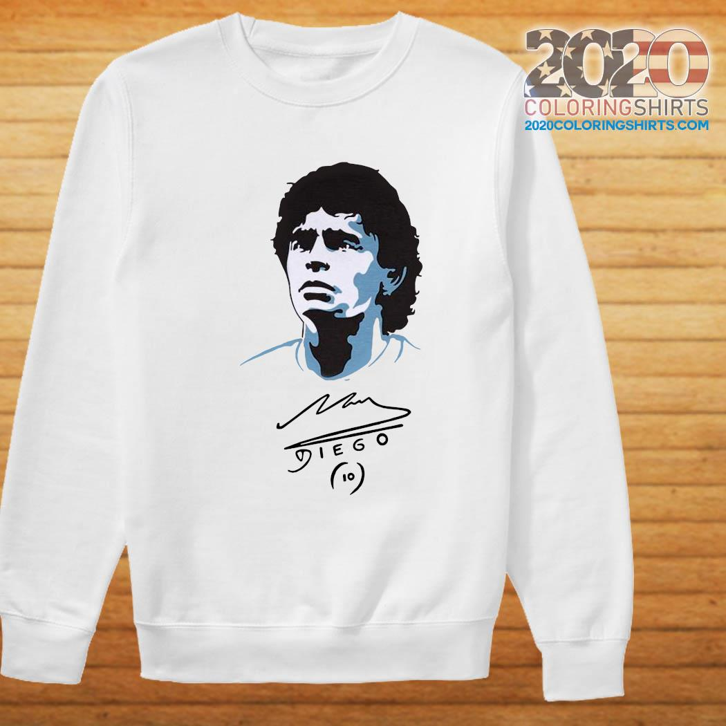 Diego Maradona Signature Shirt Sweater