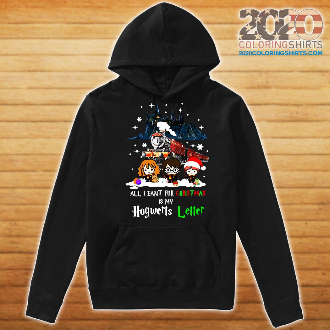 Harry Potter All I Want For Christmas Is My Hogwarts Letter Sweats Hoodie