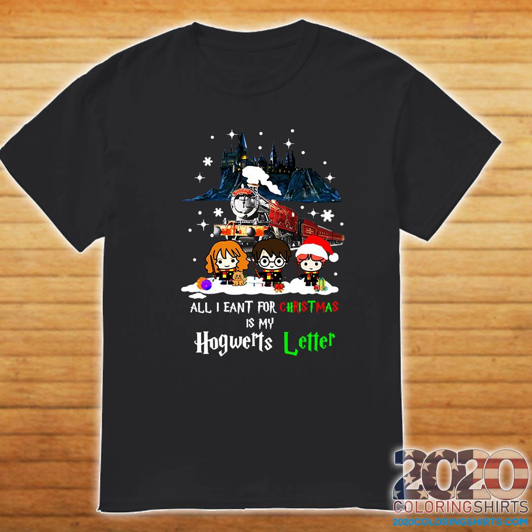 Harry Potter All I Want For Christmas Is My Hogwarts Letter Sweats Shirt