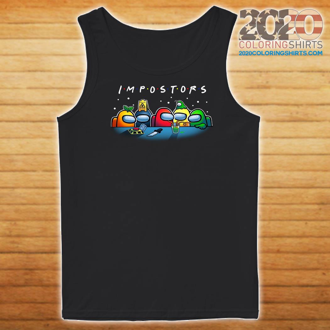 Impostors Among Us Drink Water Shirt Tank top