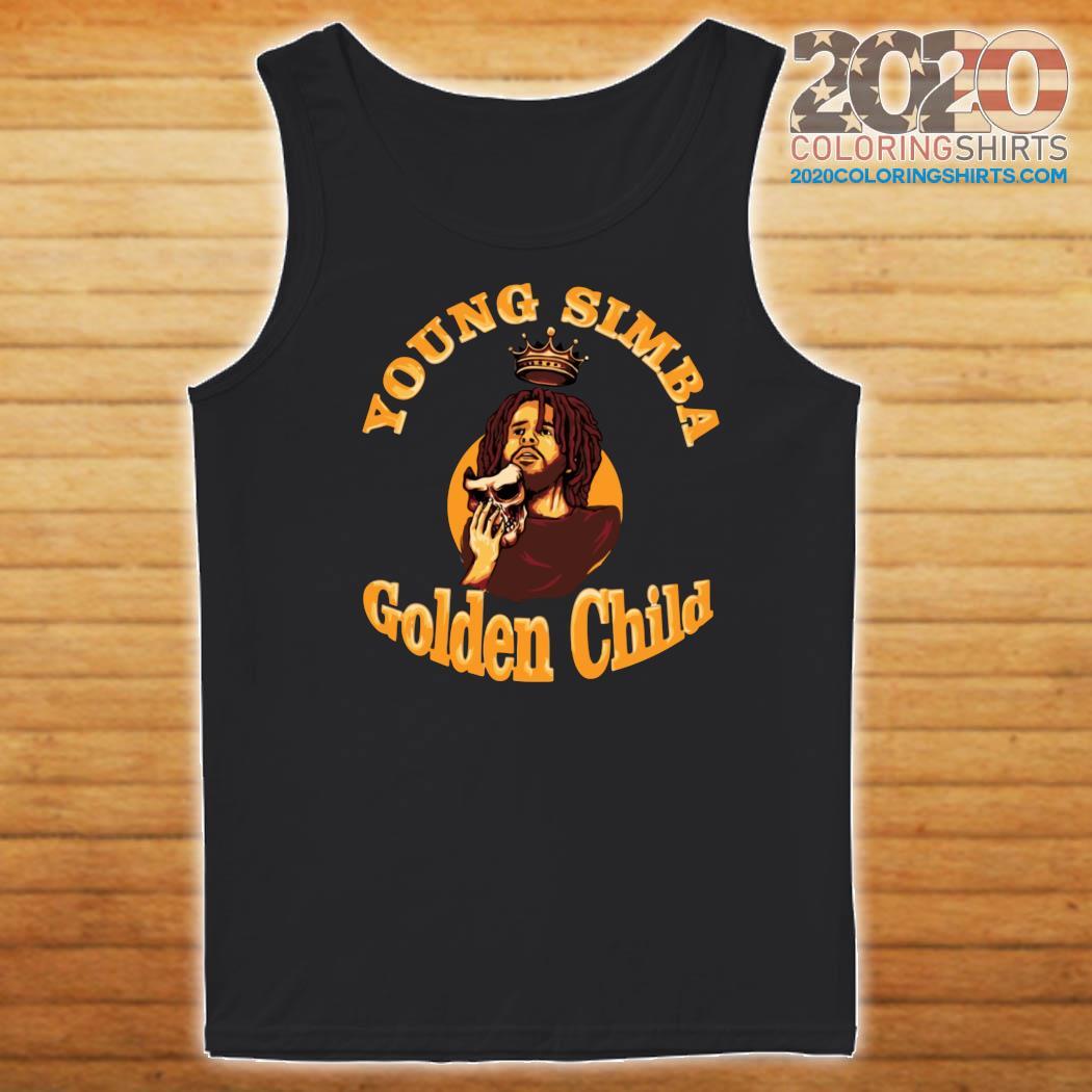 J.Cole Young Simba Golden Child Shirt Tank top