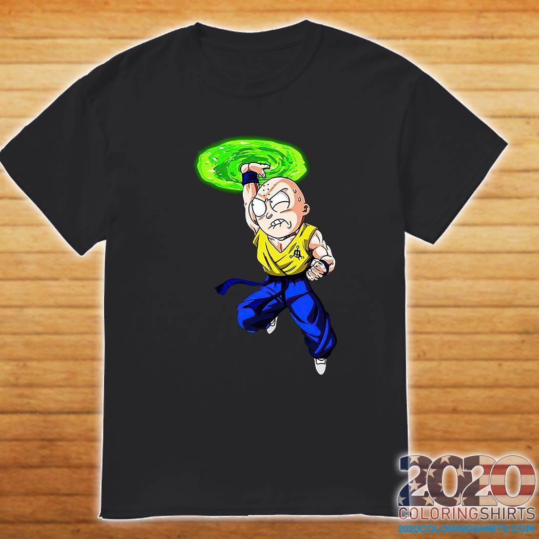 Morty Smith Kamehameha Kakarick Shirt Shirt