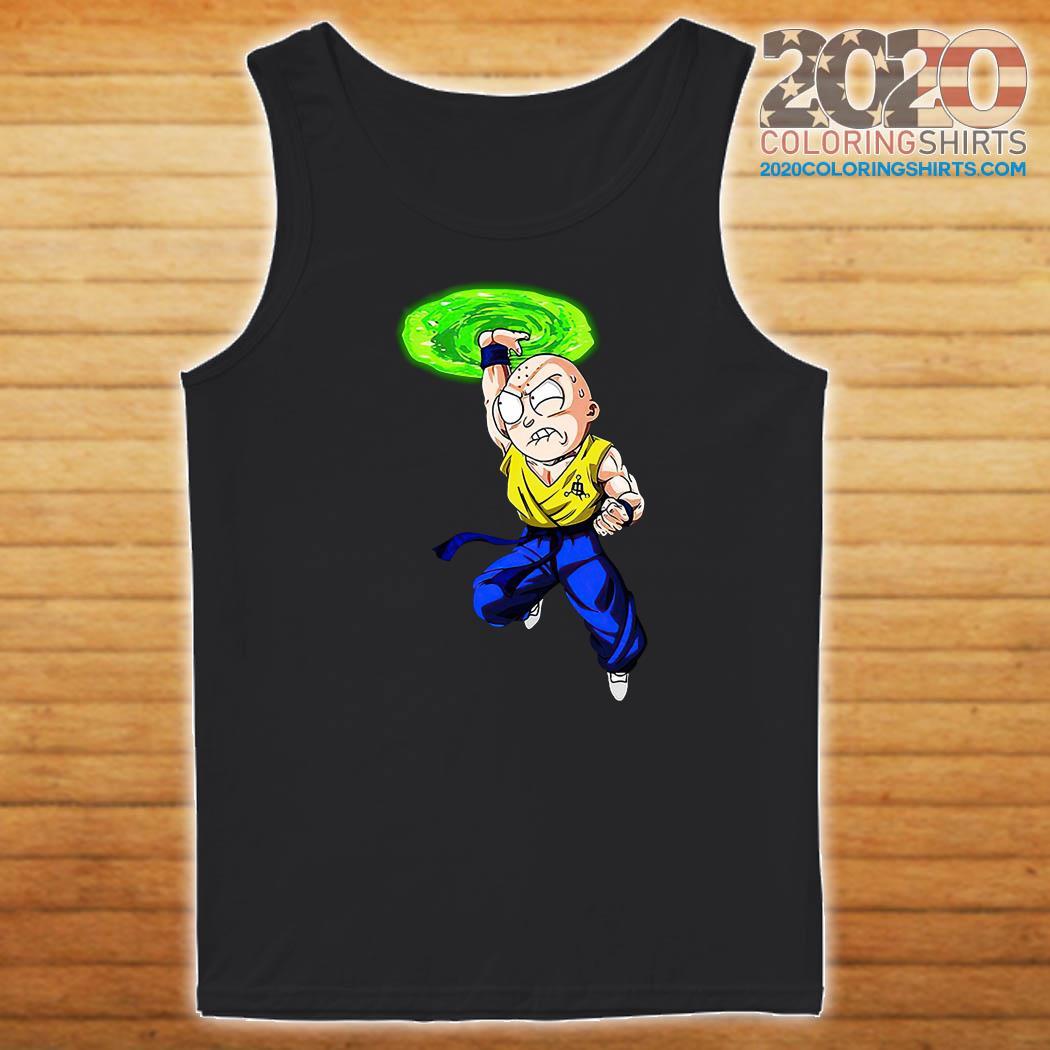 Morty Smith Kamehameha Kakarick Shirt Tank top