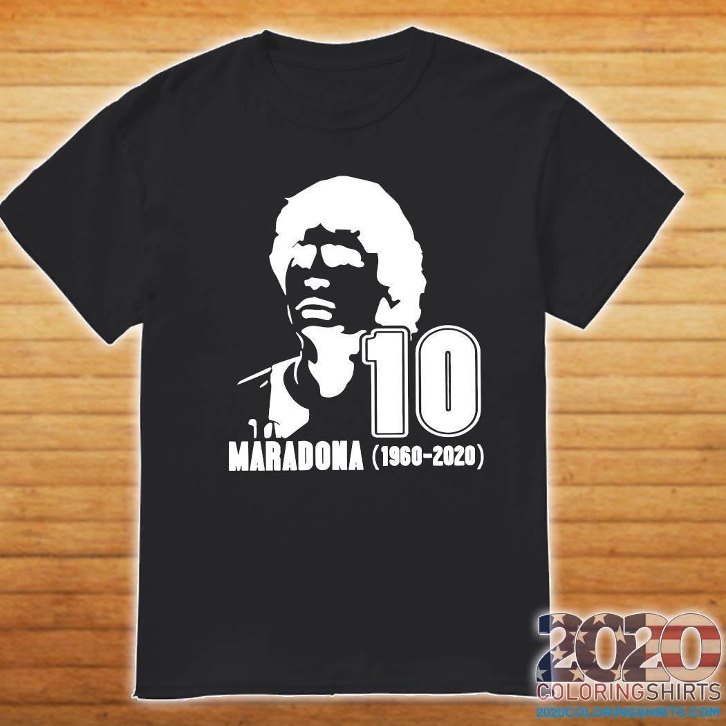 Rest In Peace Maradona The Golden boy 1986 World Cup Diego Maradona Shirt Shirt