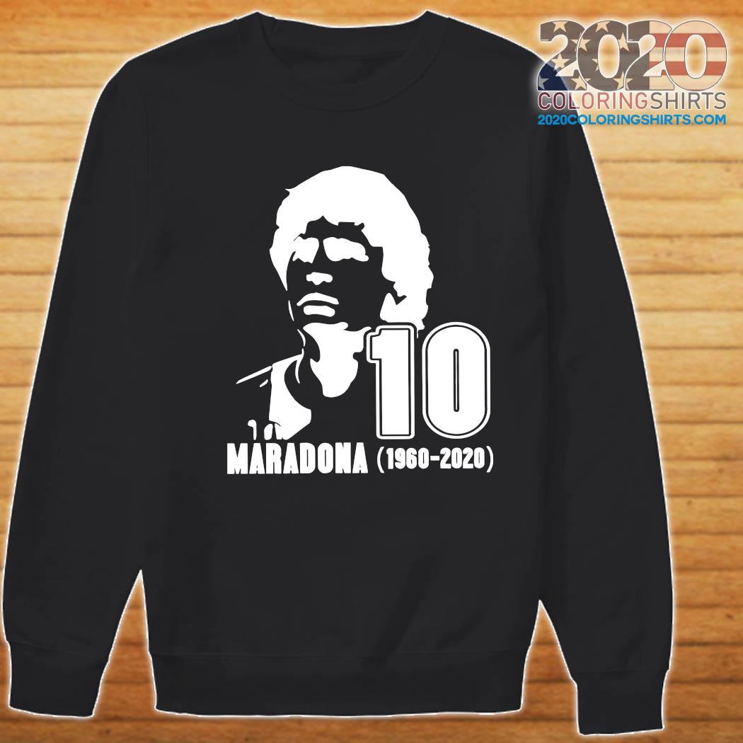 Rest In Peace Maradona The Golden boy 1986 World Cup Diego Maradona Shirt