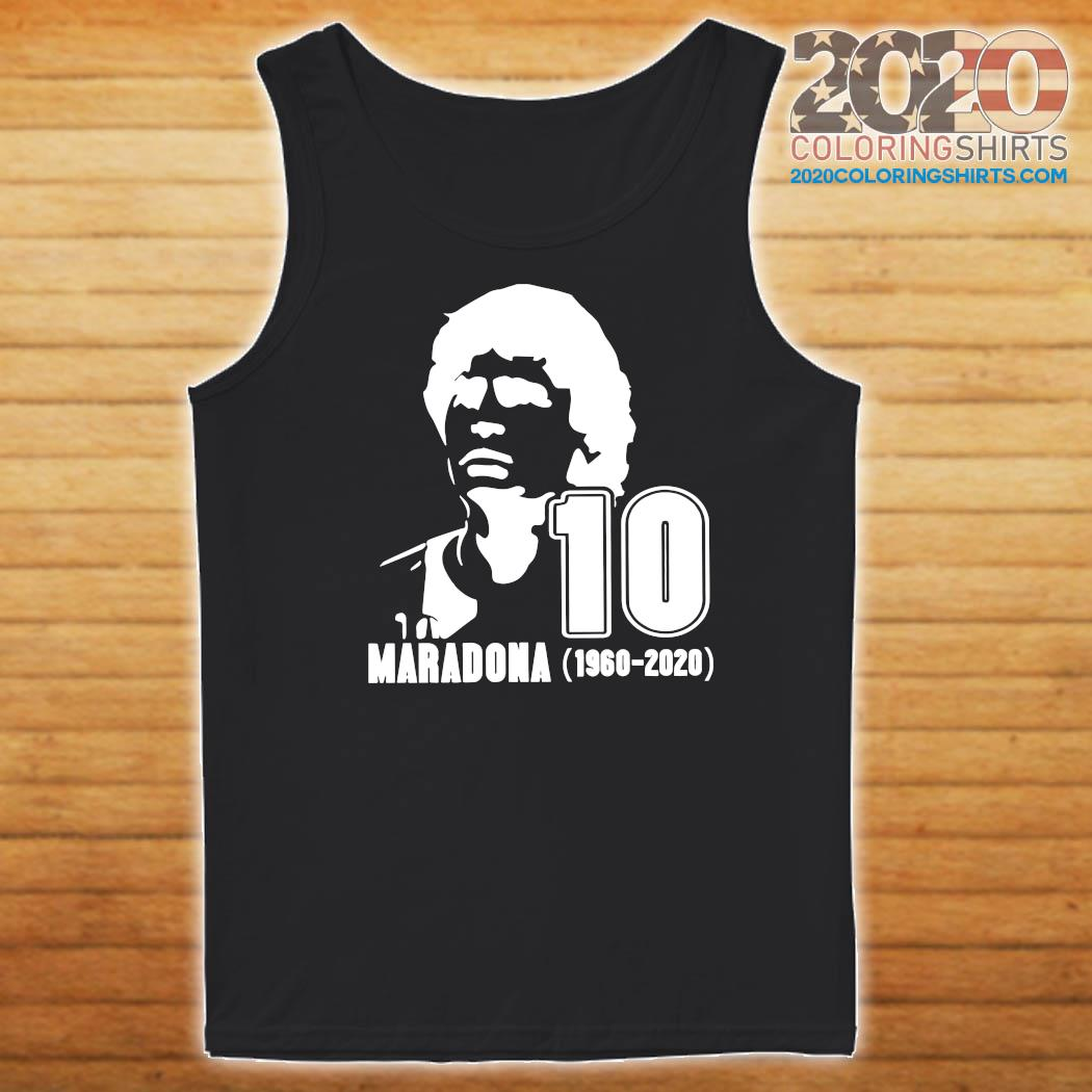 Rest In Peace Maradona The Golden boy 1986 World Cup Diego Maradona Shirt Tank top