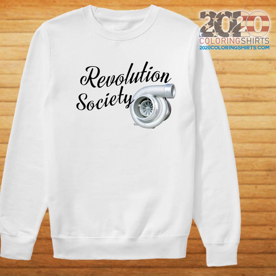 Revolution Society Shirt Sweater