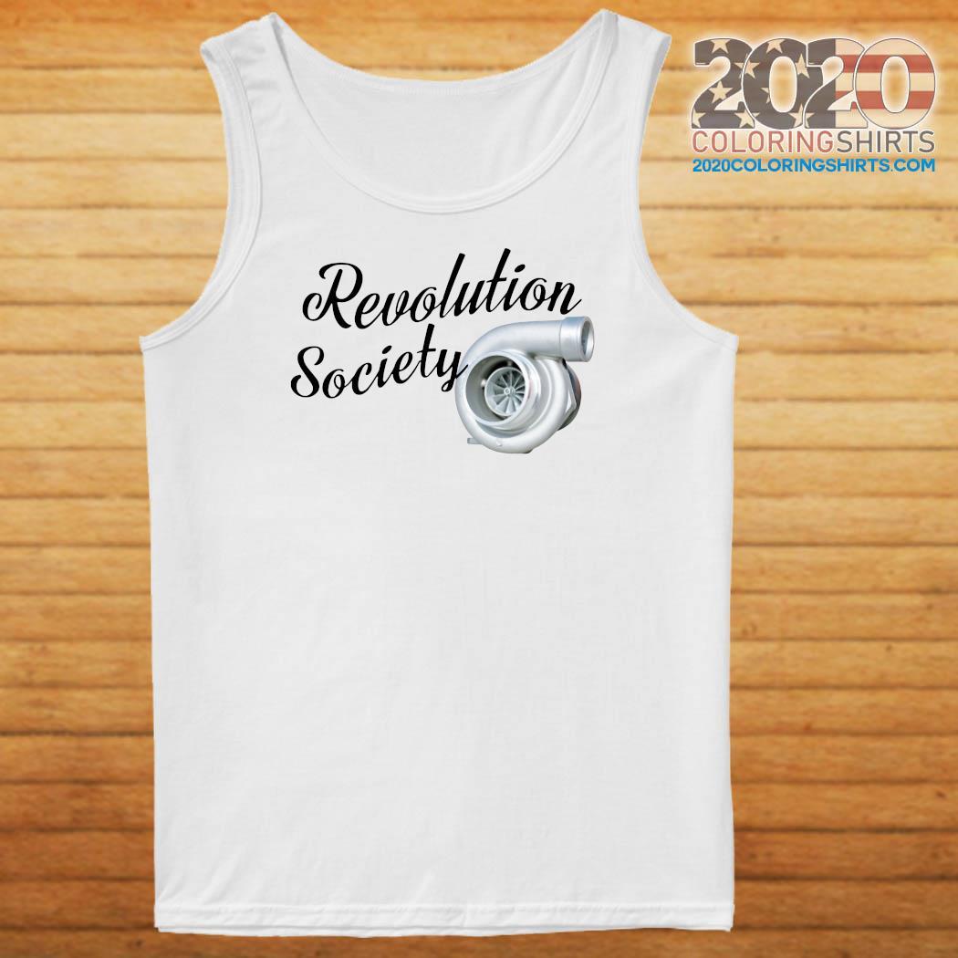 Revolution Society Shirt Tank top
